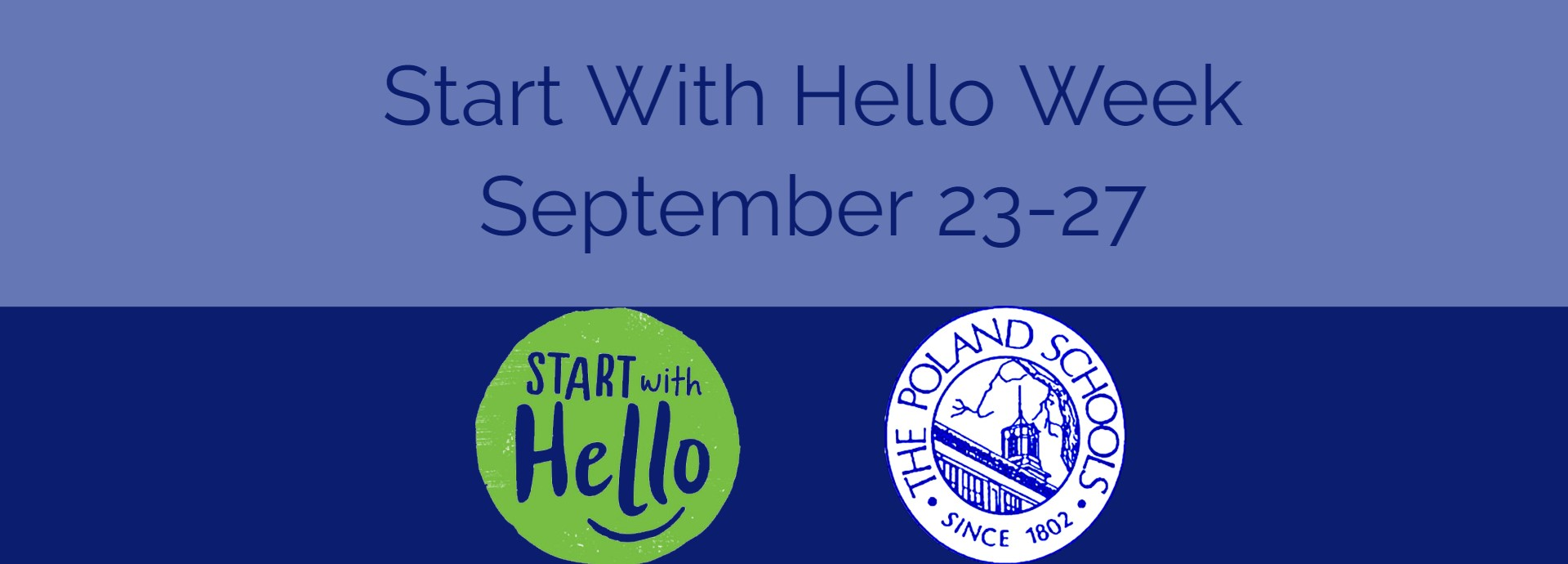 Start With Hello Week