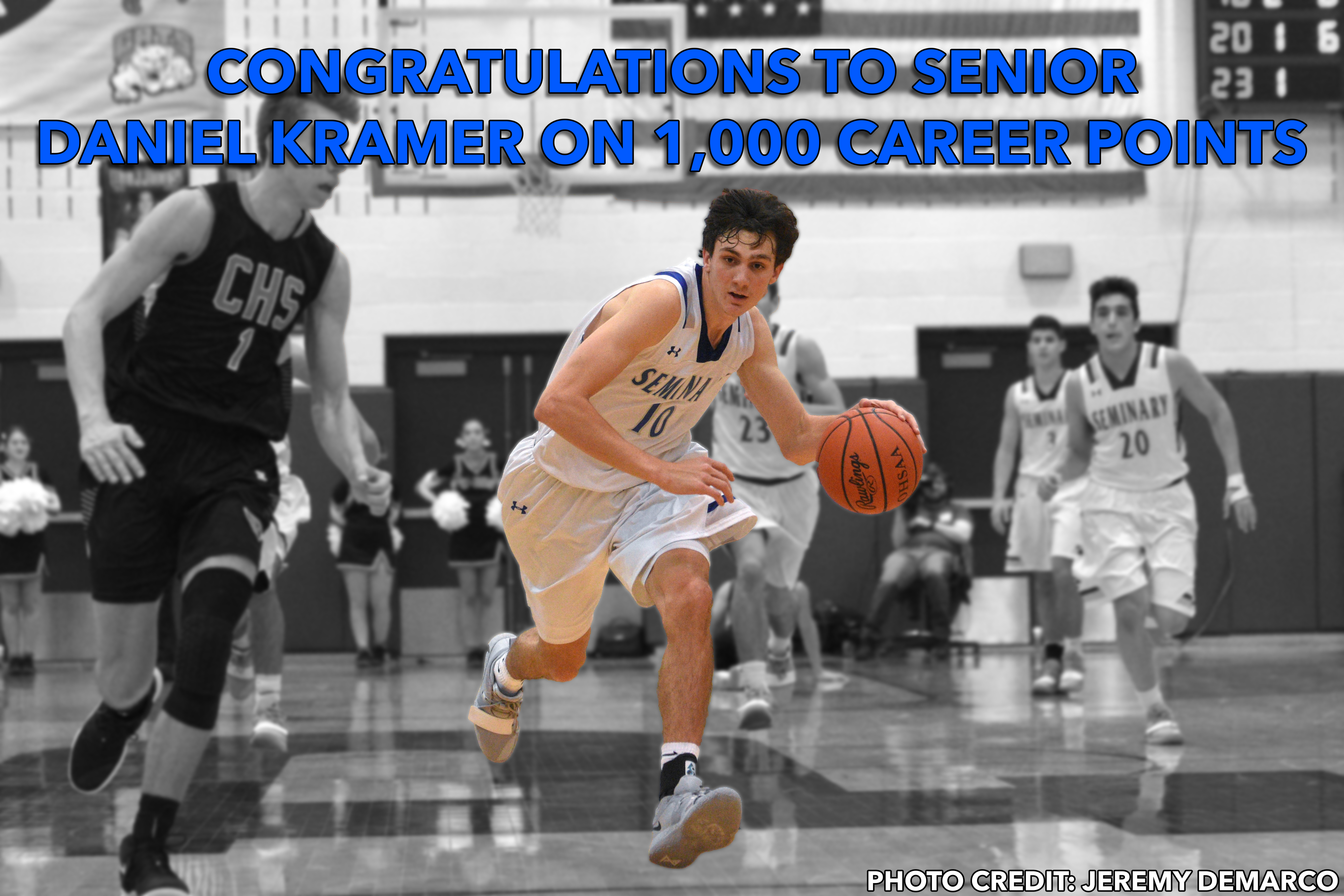 Dan Kramer 1000 points