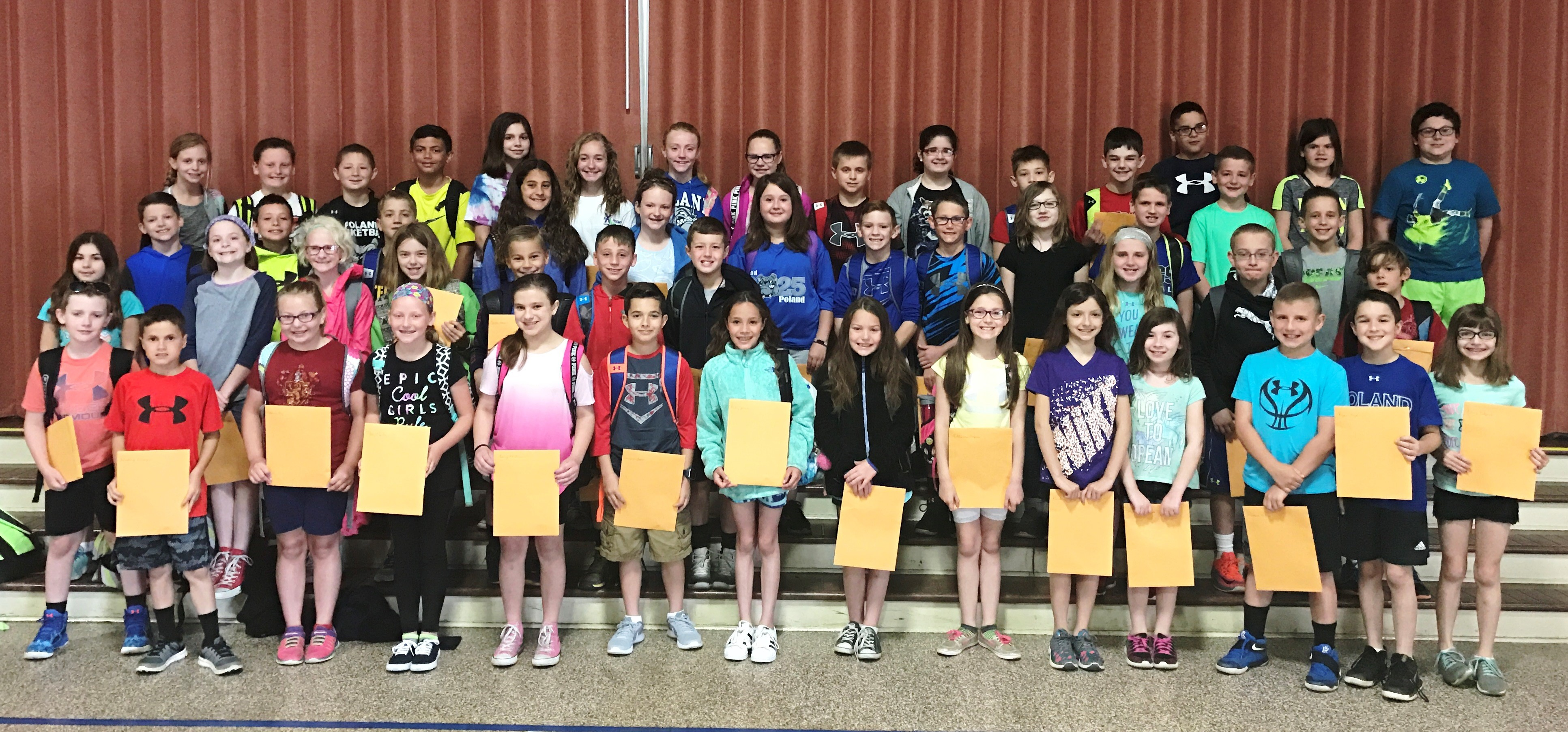 2017 4th Grade President's Award Recipients - Educational Excellence