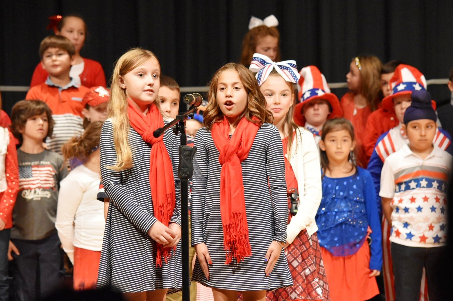"3rd Grade Performs ""Thank You Soldiers!"" at the Veteran's Day Concert"