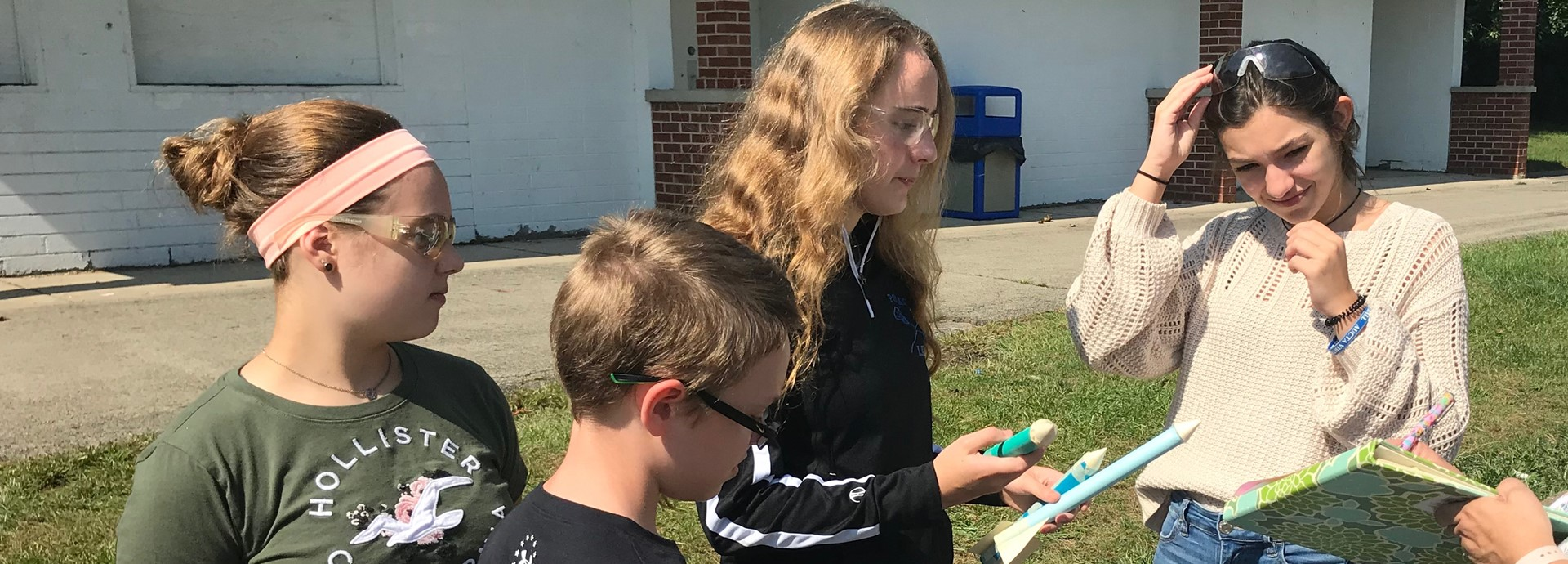 8th Grade STEM Rocket Launch