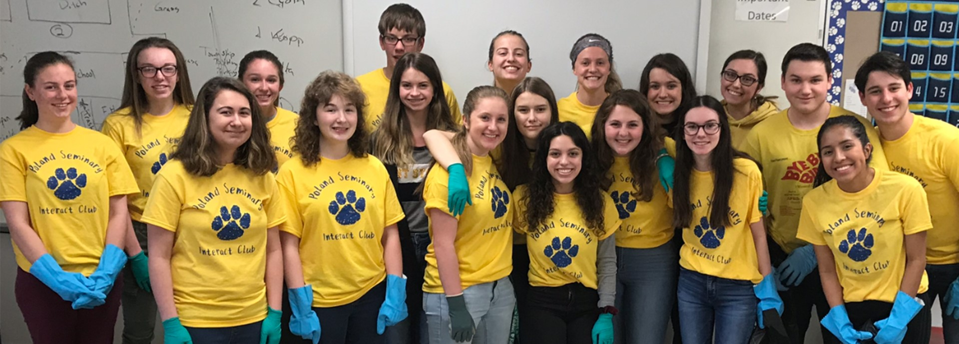 Interact Club PSHS Campus Clean Up